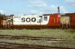 Soo Line GP9 402